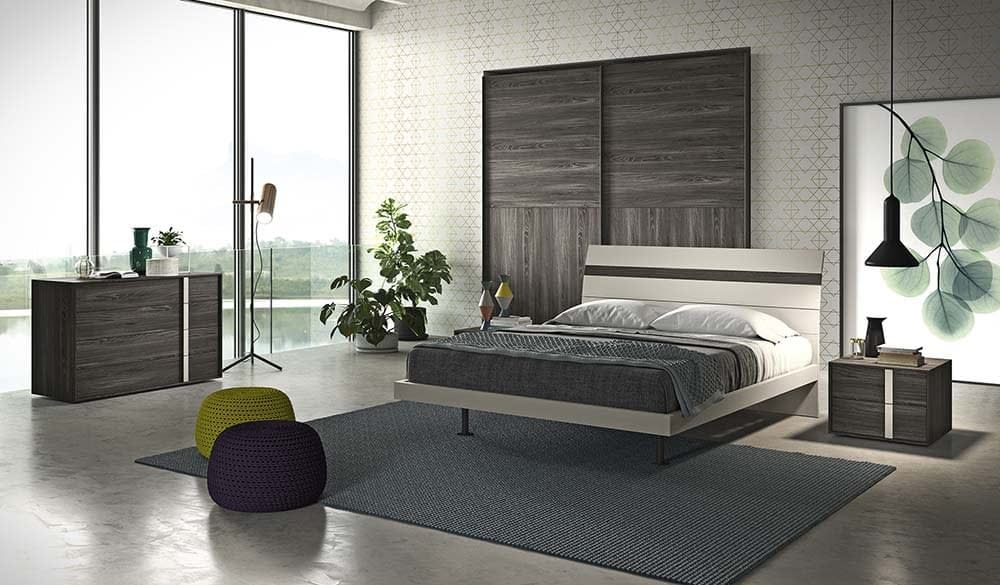 camera da letto con letto elegance