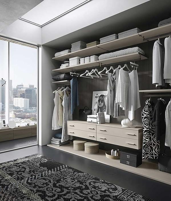 Cabina Armadio WALL Soluzioni interior design Notte 5.0