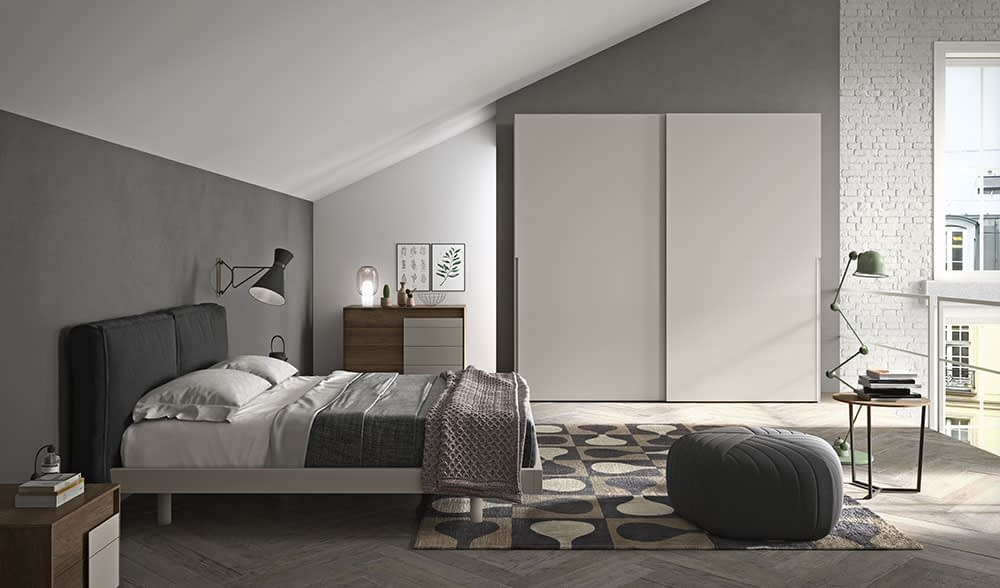 armadio camera da letto con anta go 25
